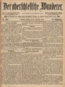 Der Oberschlesische Wanderer, 1885, Jg. 58, Nr. 220