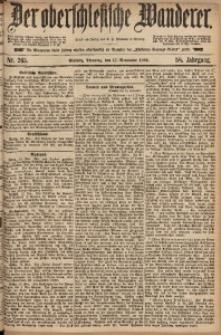 Der Oberschlesische Wanderer, 1885, Jg. 58, Nr. 265
