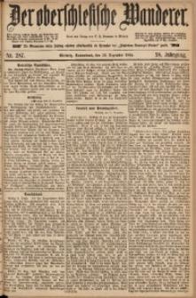 Der Oberschlesische Wanderer, 1885, Jg. 58, Nr. 287