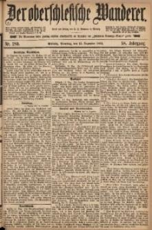 Der Oberschlesische Wanderer, 1885, Jg. 58, Nr. 289