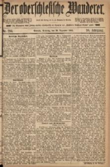 Der Oberschlesische Wanderer, 1885, Jg. 58, Nr. 294