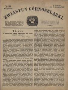 Zwiastun Górnoszlązki, 1868, R. 1, nr 46