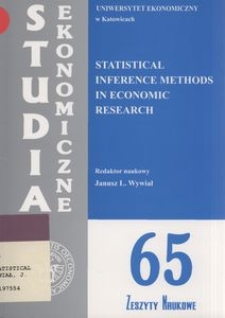 Statistical inference methods in economic research