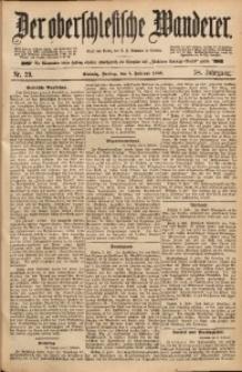 Der Oberschlesische Wanderer, 1886, Jg. 58, Nr. 29