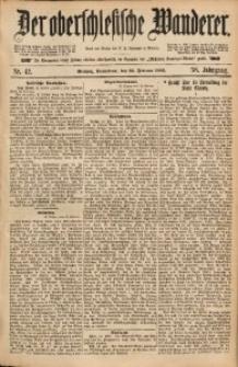 Der Oberschlesische Wanderer, 1886, Jg. 58, Nr. 42