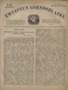 Zwiastun Górnoszlązki, 1868, R. 1, nr 47