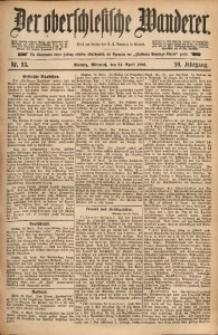 Der Oberschlesische Wanderer, 1886, Jg. 59, Nr. 93