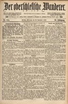 Der Oberschlesische Wanderer, 1886, Jg. 59, Nr. 225