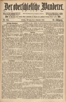 Der Oberschlesische Wanderer, 1886, Jg. 59, Nr. 255