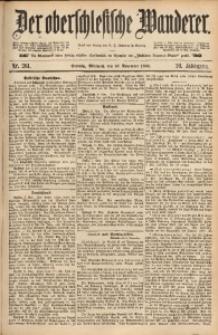 Der Oberschlesische Wanderer, 1886, Jg. 59, Nr. 261