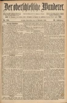 Der Oberschlesische Wanderer, 1886, Jg. 59, Nr. 268