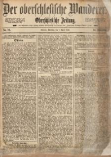 Der Oberschlesische Wanderer, 1888, Jg. 61, Nr. 78