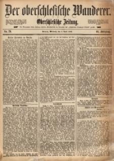Der Oberschlesische Wanderer, 1888, Jg. 61, Nr. 79