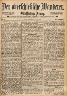 Der Oberschlesische Wanderer, 1888, Jg. 61, Nr. 91