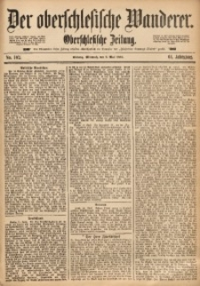 Der Oberschlesische Wanderer, 1888, Jg. 61, Nr. 102