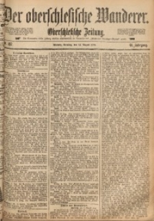 Der Oberschlesische Wanderer, 1888, Jg. 61, Nr. 187