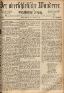 Der Oberschlesische Wanderer, 1888, Jg. 61, Nr. 257