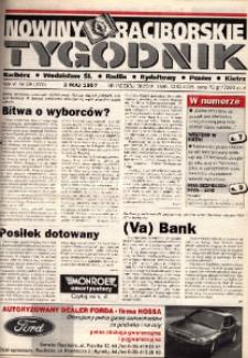 Nowiny Raciborskie. R. 6, nr 18 (270).