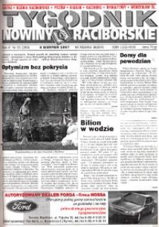 Nowiny Raciborskie. R. 6, nr 31 (283).