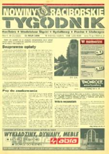 Nowiny Raciborskie. R. 5, nr 21 (223).