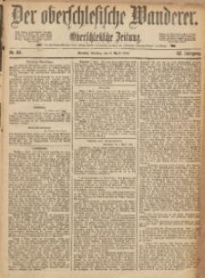 Der Oberschlesische Wanderer, 1889, Jg. 62, Nr. 84