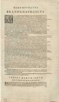 Tabula Electoratus Brandenburgici, Meckelenburgi, et Maximae Partis Pomeraniae
