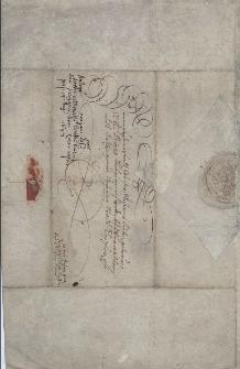 Pismo księżnej cieszyńskiej Elżbiety Lukrecji z 14.08.1647 r. do magistratu Cieszyna w sprawie kontrybucji na rzecz kwaterującego w mieście pułku von Rochowa