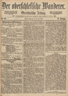 Der Oberschlesische Wanderer, 1890, Jg. 63, Nr. 143