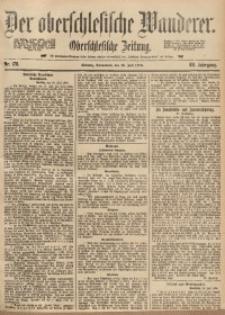 Der Oberschlesische Wanderer, 1890, Jg. 63, Nr. 170