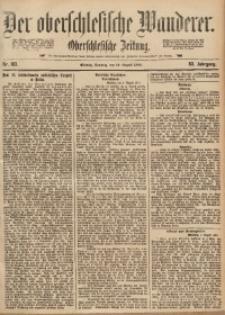 Der Oberschlesische Wanderer, 1890, Jg. 63, Nr. 183