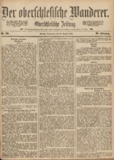 Der Oberschlesische Wanderer, 1890, Jg. 63, Nr. 198