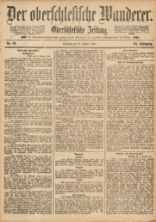 Der Oberschlesische Wanderer, 1891, Jg. 63, Nr. 14