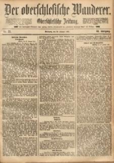 Der Oberschlesische Wanderer, 1891, Jg. 63, Nr. 22