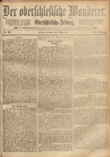 Der Oberschlesische Wanderer, 1891, Jg. 64, Nr. 86