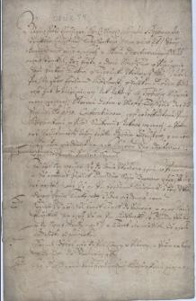 Podpisany 3.04.1680 r. protokół konfrontacji świadków w dniu 22.03.1680 przed Sądem Ziemskim w Cieszynie (uzupełnionym o wójta i dwóch ławników sądu miejskiego Cieszyna) w sprawie kradzieży koni Janka Turka w Cierlicku