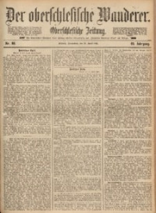 Der Oberschlesische Wanderer, 1892, Jg. 65, Nr. 98