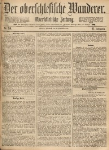 Der Oberschlesische Wanderer, 1892, Jg. 65, Nr. 216