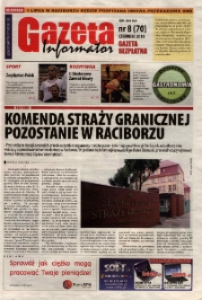 Gazeta - Informator 2010, nr 8 (70).