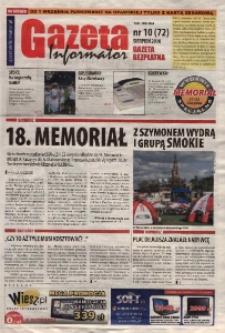 Gazeta - Informator 2010, nr 10 (72).