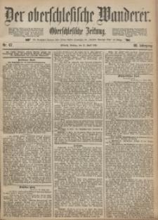 Der Oberschlesische Wanderer, 1895, Jg. 68, Nr. 87