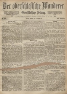 Der Oberschlesische Wanderer, 1895, Jg. 68, Nr. 198
