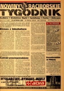 Nowiny Raciborskie. R. 4, nr 47 (197) [196].