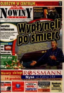 Nowiny Nyskie 2007, nr 50.