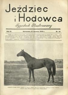 Jeździec i Hodowca, R. 9 (1930), Nry 25-37
