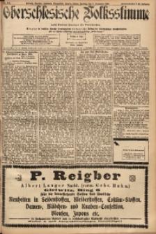 Oberschlesische Volksstimme, 1900, Jg. 25, Nr. 207 [Zweites Blatt]