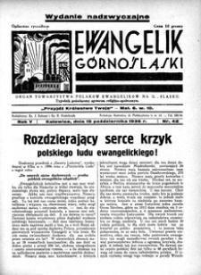 Ewangelik Górnośląski, 1936, R. 5, nr 42