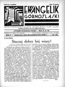 Ewangelik Górnośląski, 1936, R. 5, nr 44