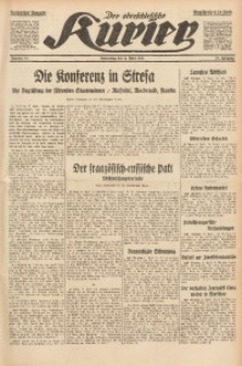 Der Oberschlesische Kurier, 1935, Jg. 29, Nr. 85