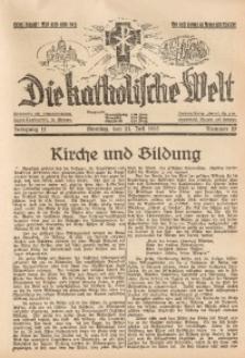 Die Katholische Welt, 1935, Jg. 11, Nr. 29