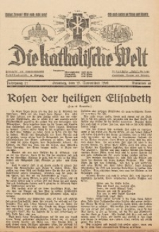Die Katholische Welt, 1935, Jg. 11, Nr. 46